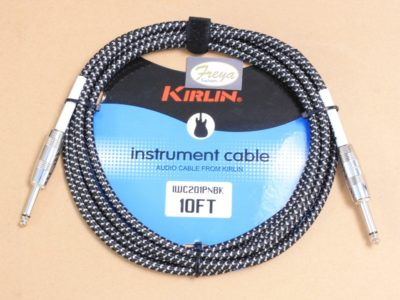 Guitar cable 10' cloth Kirlin online store