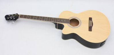 Semi Acoustic guitar - left hand guitar