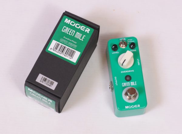 Overdrive pedal Mooer Green Mile