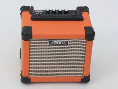 Guitar amplifier, mains & battery-powered, portable 10W
