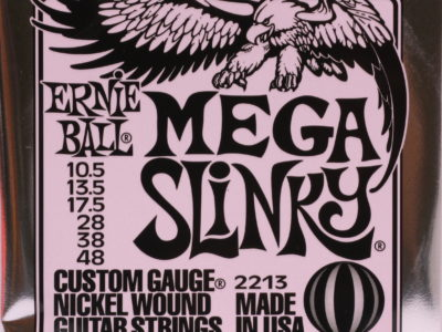 Electric Guitar Strings Ernie Ball 2213 10.5-48 Mega Slinky
