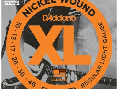 Electric Guitar Strings D'Addario EXL110-3D 3-Pack 10-46