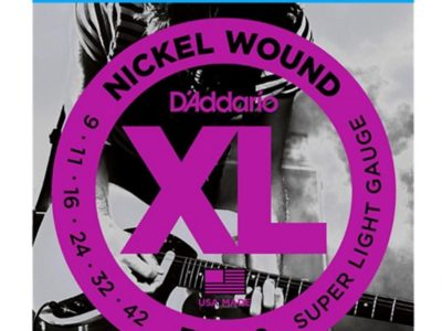 Electric Guitar Strings D'Addario EXL120 9-42