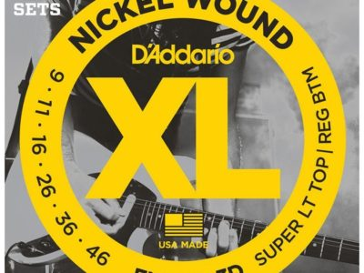 Electric Guitar Strings D'Addario EXL125-3D 3-Pack 9-46