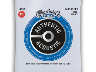 Martin Acoustic Guitar Strings 12-54 MA140PK3 3 sets 80/20 Bronze €20