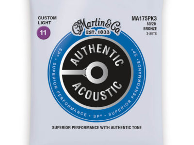 Martin Acoustic Guitar Strings 11-52 MA175PK3 3 sets 80/20 Bronze €20