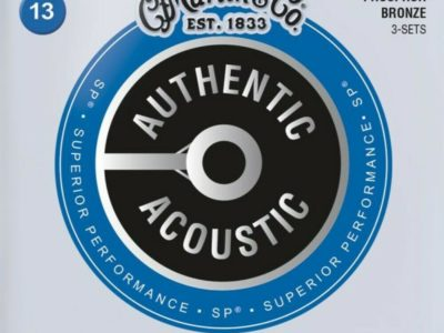 Acoustic Guitar Strings Martin 13-56 MA550PK3 3 sets Phosphor Bronze