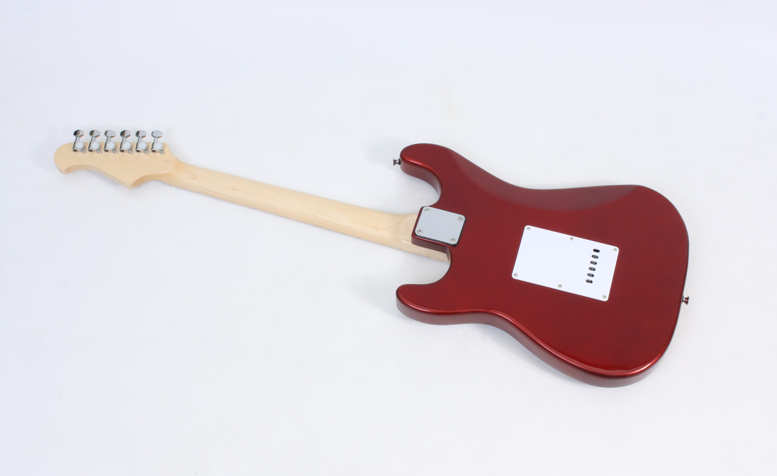 Electric Guitar Strat style Freya ST-2H Candy Apple Red Maple fretboard