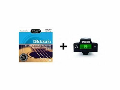 Acoustic Guitar strings D'addario NS Soundhole Tuner + FREE EXP16 12-53 Coated Strings
