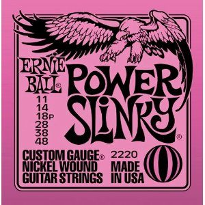 Electric Guitar Strings Ernie Ball Power Slinky 11-48 2220