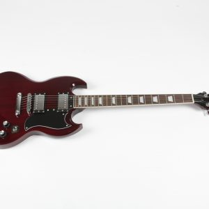 Electric Guitar SG style Double Cut Cherry Set-Neck Ernie Ball Strings Freya Guitars Ireland FREE P&P!