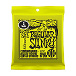 Electric Guitar Strings 3 sets Ernie Ball Regular Slinky 10-46 2221 3221