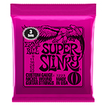 Electric Guitar Strings 3 sets of Ernie Ball Super Slinky 9-42 2223 3223