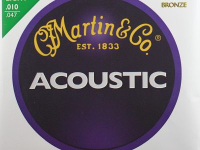 Acoustic Guitar Strings Martin 80/20 Bronze 3-pack M170 PK-3 10-47