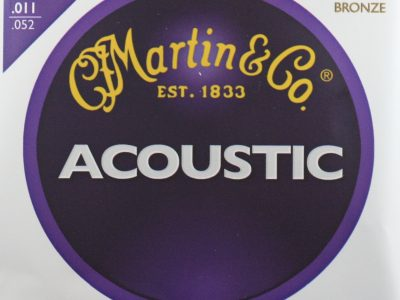 Acoustic Guitar Strings Martin 80/20 Bronze 3-pack M175 PK-3 11-52