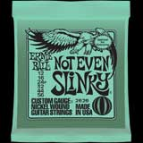 Electric Guitar Strings Ernie Ball 2626 12-56 Not Even Slinky