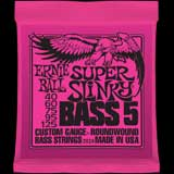 Bass Guitar Strings Ernie Ball Super Slinky 5-string 40-125 set 2824