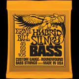 Bass guitar strings Ernie ball 45-105