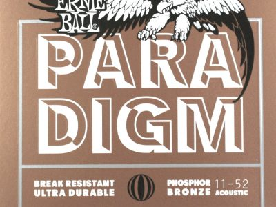 Acoustic Guitar Strings Ernie Ball Paradigm 11-52 Phosphor Bronze P02078